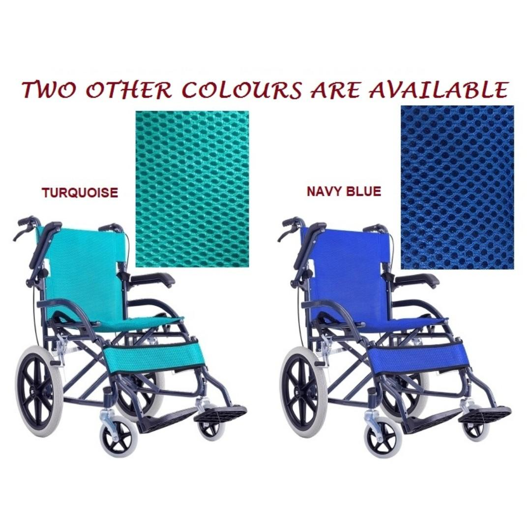 WHEELCHAIR –FOLDABLE LEG REST AND ARM REST TYPE, COMPACT