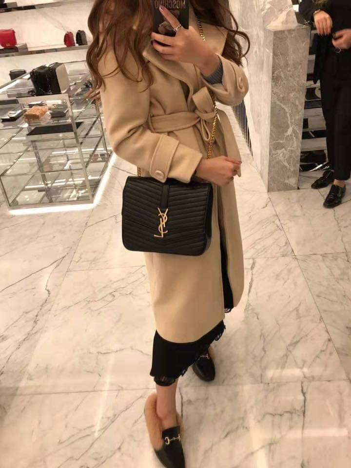 Ysl Sulpice Double Flap