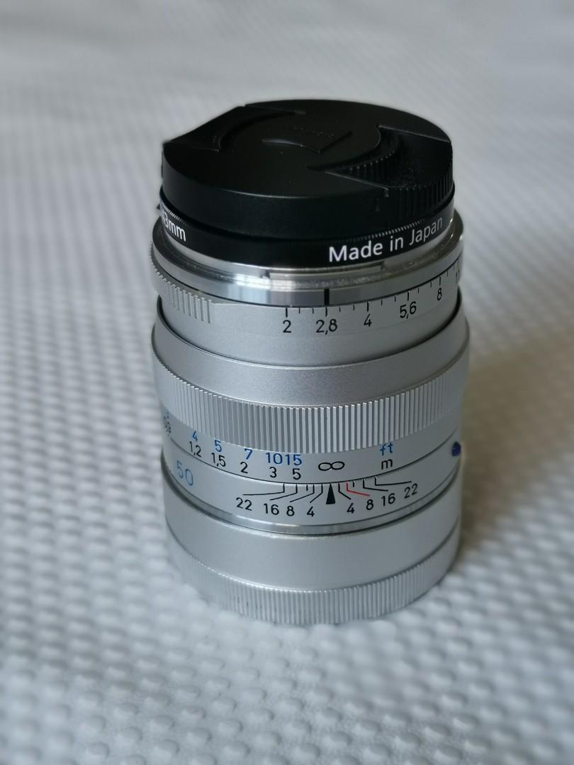 zeiss zm 50f2 planar for leica M, Photography, Lenses on