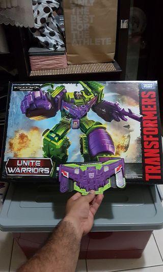 Unite warrior Devastator