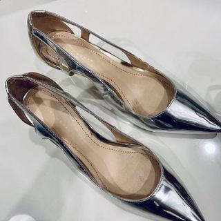 ZARA Silver Stiletto