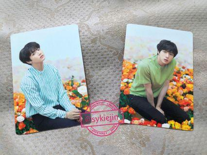 Official BTS Love Yourself Tour Japan Mini Photocard