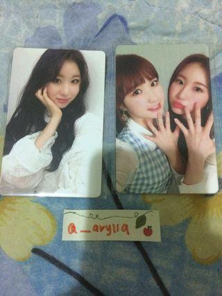 WTS iz*one official photocard