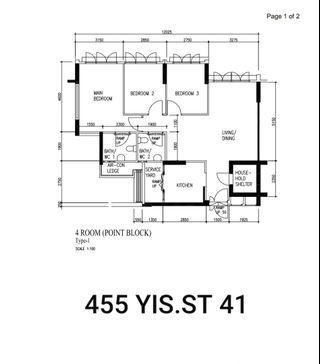 455 YISHUN STREET 41 DEW SPRING @ YISHUN