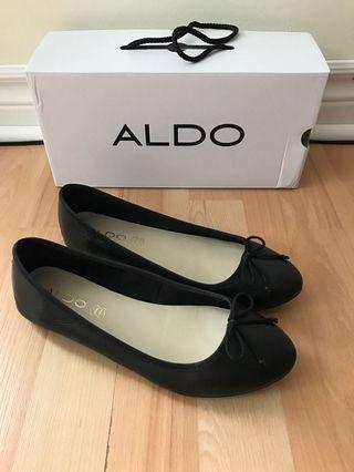Aldo black flats