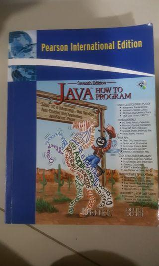 JAVA How To Program 7th edition - 2007