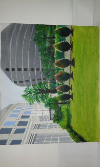 The picture are building University Multi Media Nusantara.