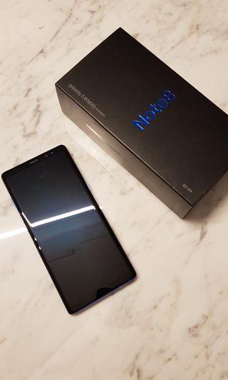 Samsung Note 8 (CHEAPEST NEW SET!)