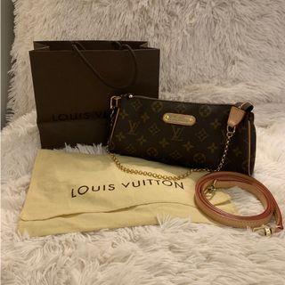 Louis Vuitton Monogram Eva 2 way pochette