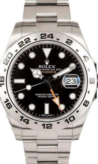 WTB Rolex Explorer II 216570