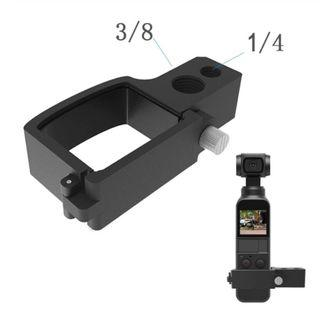 Shoot Clamp Holder Bracket Microphone Extension 1/4 3/8 Screw Thread for DJI OSMO Pocket Handheld gimbal