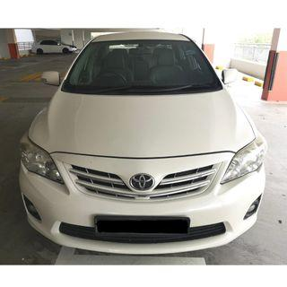 🚗 Toyota Altis Available Now!! 🚗 (Gojek Rebate!!)