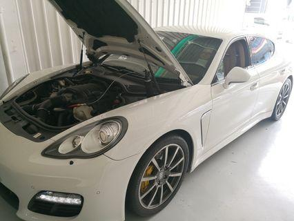 Porsche panamera 3.6 v6 done exhaust cleaning!