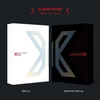 X1 - QUANTUM LEAP Mini Album Vol.1
