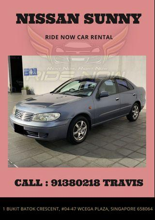 Nissan Sunny 1.6EX Spacious Sedan! Great for high mileage driving!