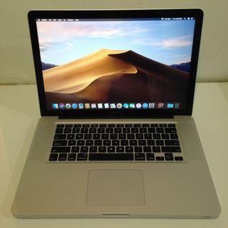 MacBook Pro 15 inch Mid 2012