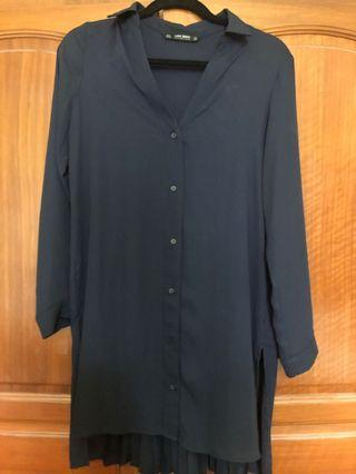 Zara Back Pleated Tunic
