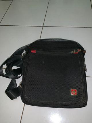 Man sling bag.