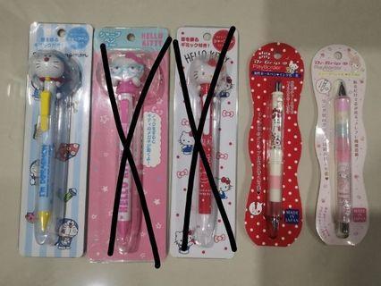 Sanrio Hello Kitty / Melody and Doraemon - Pencil 0.5mm