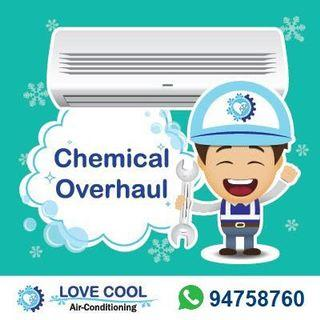 Aircon Servicing Chemical Overhaul