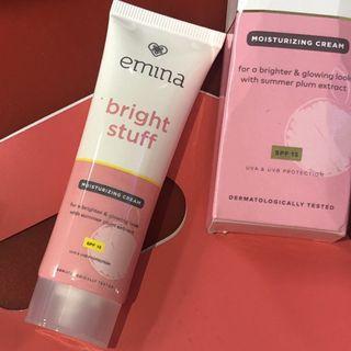 Emina Bright Stuff moisturizing cream + spf15