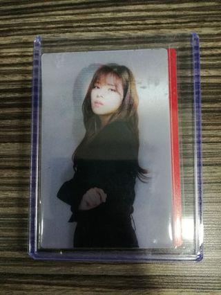 WTS Twice Jeongyeon Lenticular Photocards