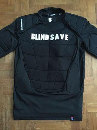 ($100) Blindsave Floorball Goalie Vest w/ Rebound Control