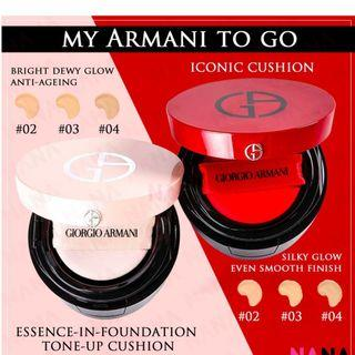 Giorgio Armani to go cushion