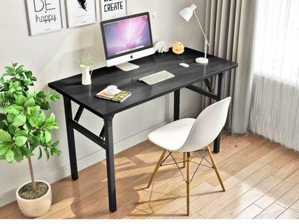 Foldable study table 80cm x 40cm x 74cm