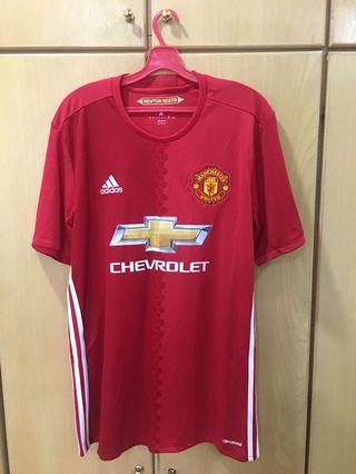 Adidas Manchester United FC 2016/2017 Home Kit Jersey Size L
