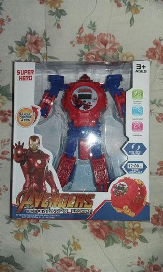 Jam Anak Avengers