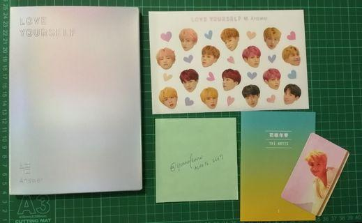 WTS BTS Love Yourself: Answer (E Ver)