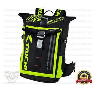 Luminous Yellow - Taichi Waterproof RSB272 LED Backpack Bag