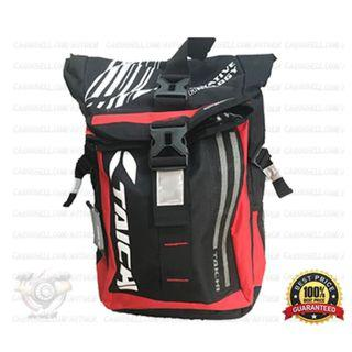Fiery Red - Taichi Waterproof RSB272 LED Backpack Bag