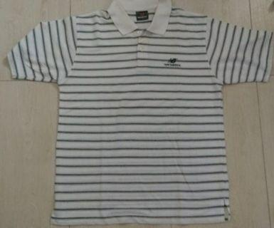 Polo shirt stripes New Balance L