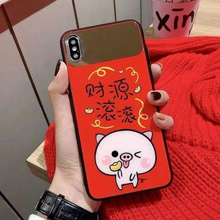 iPhone X/XS case with strap