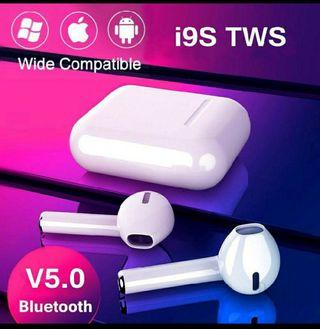 2019 Version i9S TWS Wireless Bluetooth 5.0 Earphone Airpods
