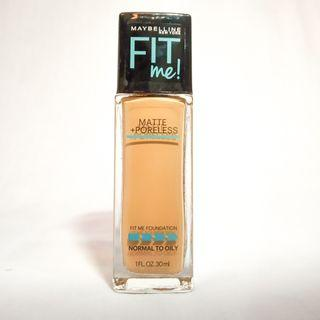 Maybelline fitme foundation