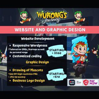 Website development and Graphic design by WukongJourney