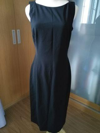 Formal black long dress from Robinsons