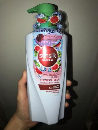 Shampoo sunsilk limited editon Watermelon & Mint cooling fresh