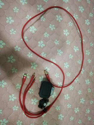 Plug samsung & cable charger