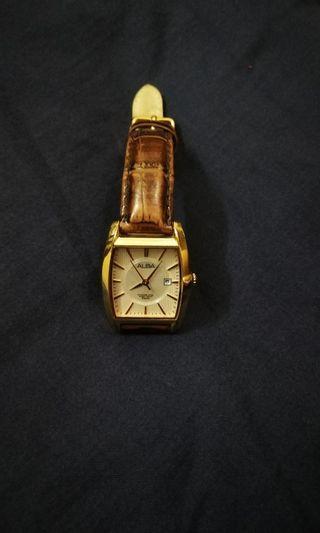 ALBA Ladies watch - Leather watch - Model VX82-X456-RSWL