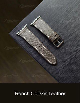 Apple watch strap 40mm/44mm (French Calfskin Leather)
