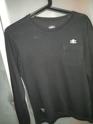 NHIZ Long Sleeve tee with pocket
