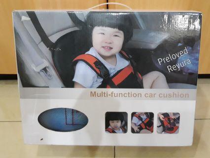 Carseat cushion multifunction