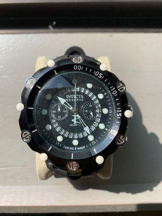Homage Invicta Reserve 52mm thick rubber band