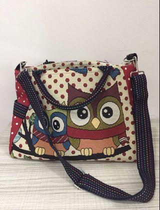 Owl Baby diapers bag
