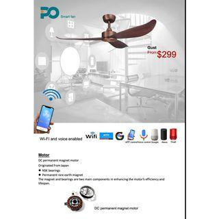 Ceiling Fan // Smart Wifi Feature with voice Control