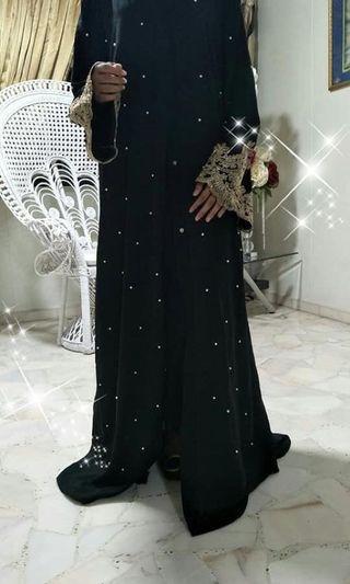 Abaya embroidery